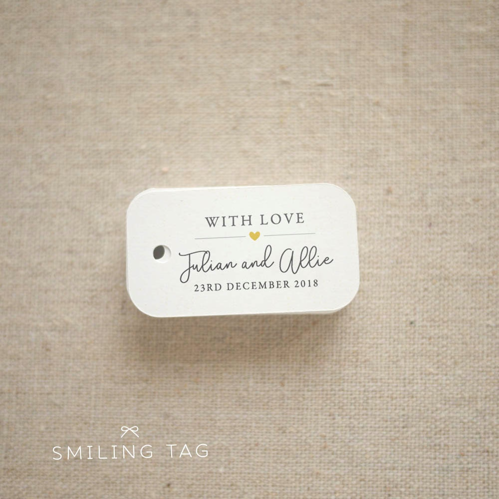 Personalized Wedding Favor Tags Cheap Images - Wedding Decoration Ideas