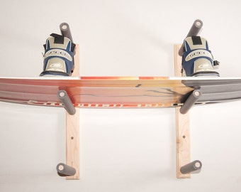 Wakeboard Wall Rack Mount -- Holds 3 Boards