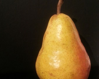 Beautiful Pear Digital Print Photo on Paper 5x7 inches
