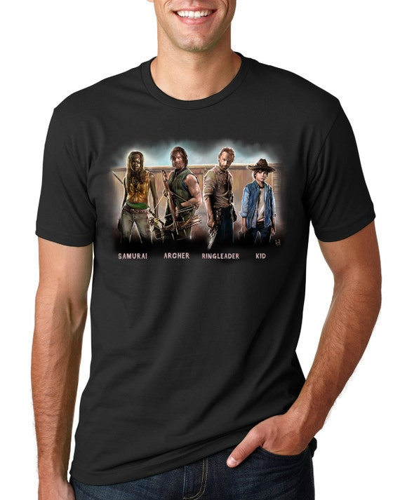 Nicknames of The Walking Dead Gang (The Walking) Unisex T-shirt