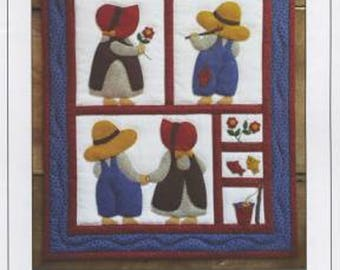 Quilt Kit - Sue & Sam Wall Quilt Kit
