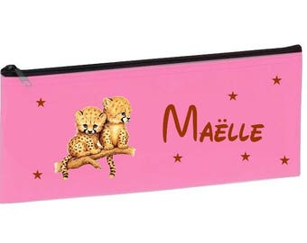Personalized with name pink school Cubs Kit