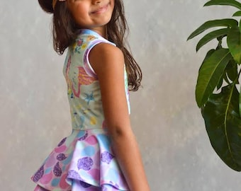 Sugar Pea Tunic and Dress pattern for babies toddlers and girls
