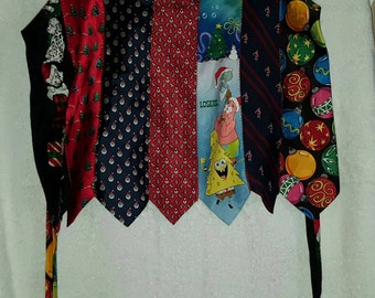 Christmas Tie Apron