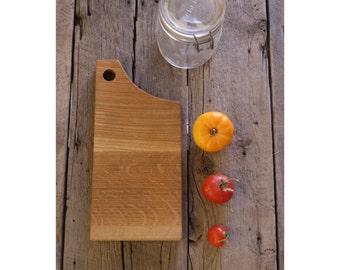 cutting board, white oak cutting board, reclaimed wood cutting board