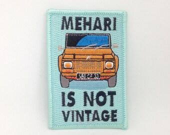 Mehari iron on patch