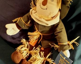 Wizard of Oz Scarecrow Cloth Rag Doll