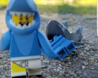 Lego Photography - Shark Attack