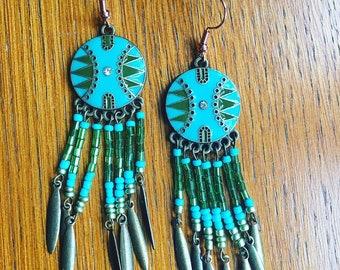 Native Peace Earrings