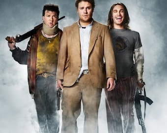 """Pineapple Express movie poster   print (size: 24"""" x 36"""") free shipping"""