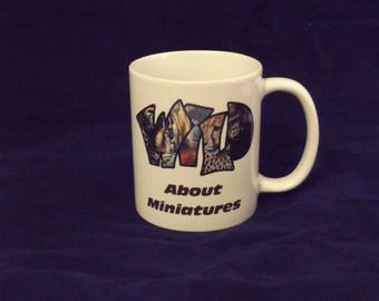 Ceramic Mug - Wild About Minatures
