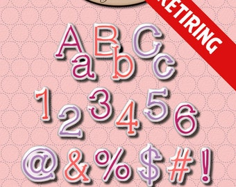 Digital Scrapbook: Alphabet, BFF