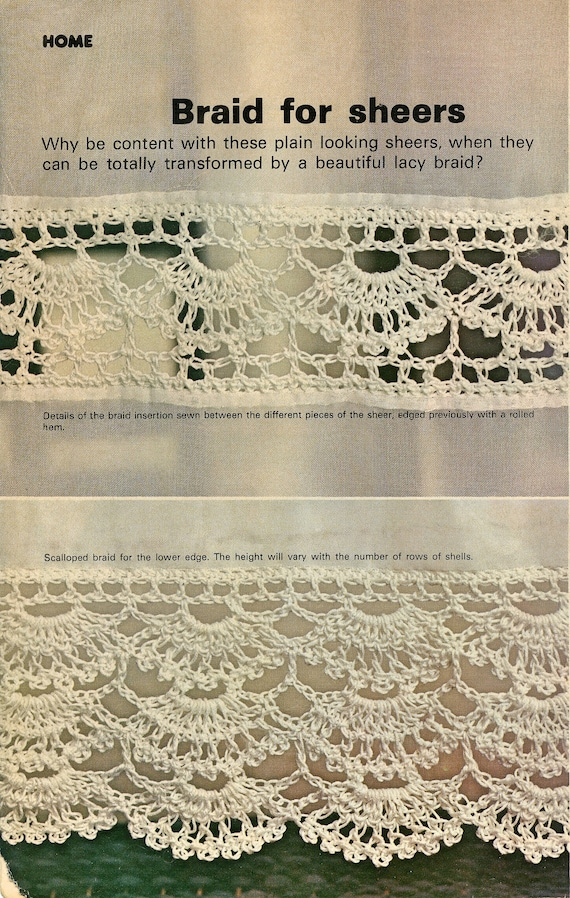 Wednesday Afternoon 1970s Heirloom Lace Crochet Patterns