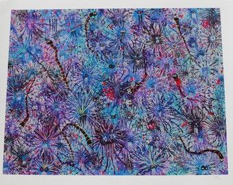 "EXTREMOPHILES NO.3 - 11""X14"" Fine Art Print"