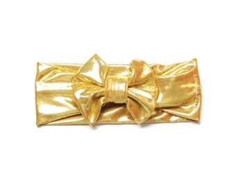 Metallic Gold Headband / Headband / Baby Headband