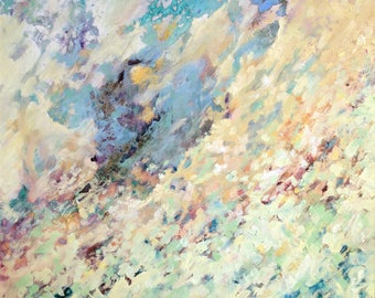 Nebula | abstract | oil painting | original | Tracy Butler
