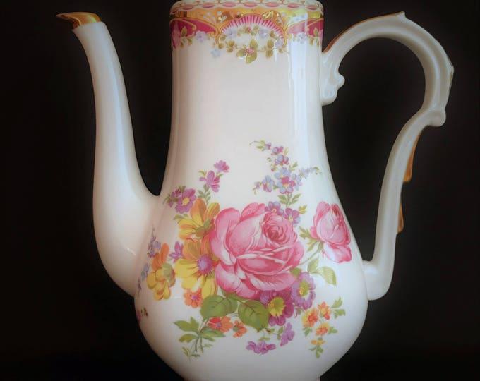 Limoges porcelain coffee maker made in France
