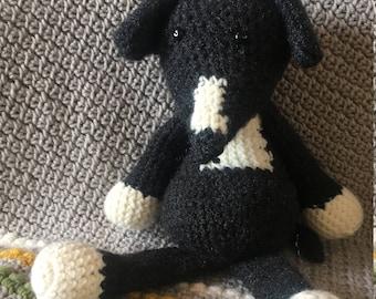 Hand Crocheted Snuggle Animals