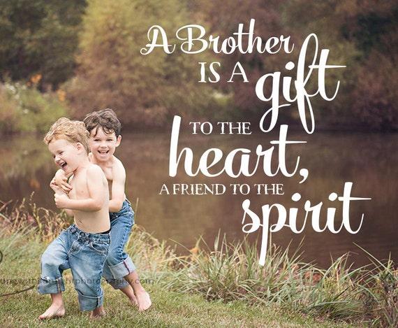 Word Overlay Brother Phrase Photo Overlay Text Photo
