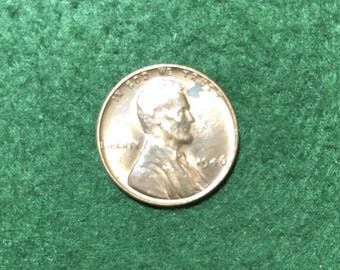1946 Lincoln Wheat Cent - * Nice Details *
