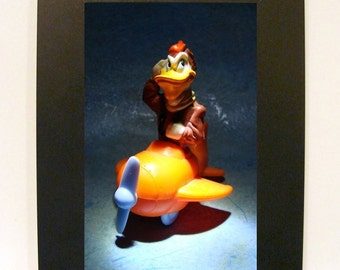 "Framed Launchpad McQuack Toy Photograph 5x7"" DuckTales"