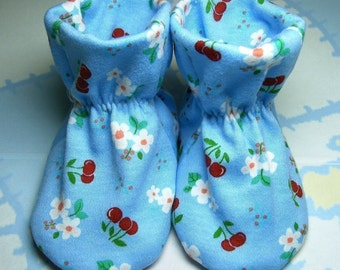 Willow River Baby Bootie Sewing Pattern, Includes 5 sizes Preemie to 12 months, Instant Download, PDF