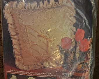 A Pillow Kit by Yours Truly Romantic Basket #1593