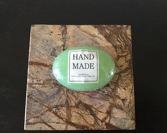Hemp Oil Handmade Soap with Peony