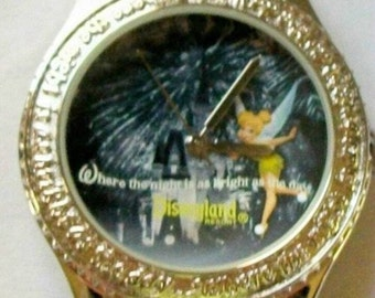 Disney Rhinestone Tinkerbell Watch!