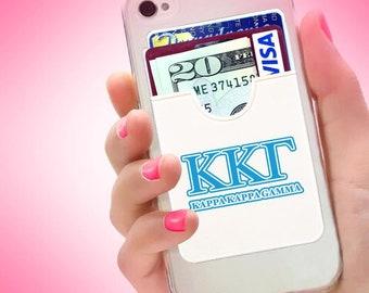 "Koala Pouch -- ""Kappa Kappa Gamma"" - Card Holder for Phone"