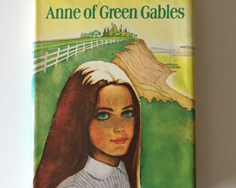 Vintage Anne of Green Gables, Montgomery, Books, children's book, kids , teens