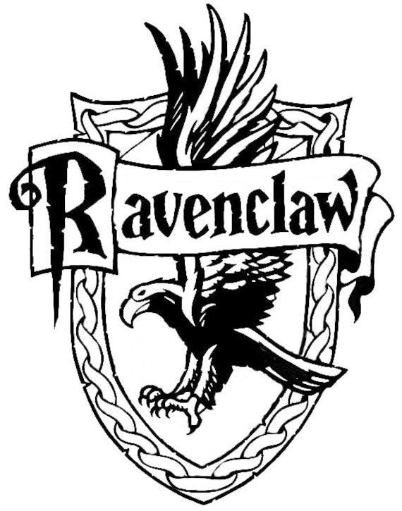 Harry Potter Decal Ravenclaw Crest Decal Hogwarts