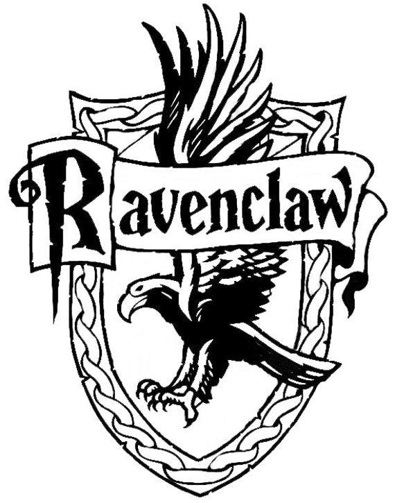 Harry Potter Decal Ravenclaw Crest