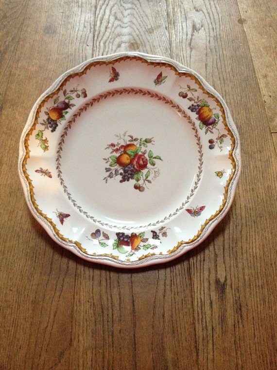 Copeland Spode Rockingham Dinner Plate 9 IN/ 22cm659905 Exclusive to Harrods - In great condition & Copeland Spode Rockingham Dinner Plate 9 IN/ 22cm659905