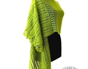 Crochet Shawl Pattern, Crochet Stole Pattern, Women Crochet Shawl, Crochet Lace Scarf Pattern, Crochet Pattern Shawl, Instant Download /1011