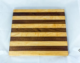 Augustus - Maple and Walnut Cutting Board