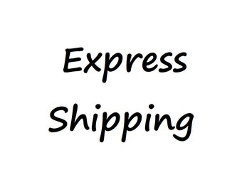 Express Shipping for Watercolor Portrait Orders