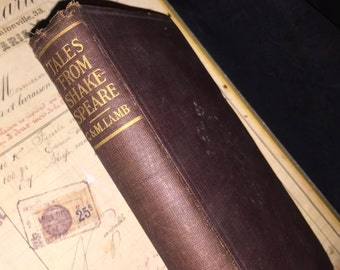 Early Tales from Shakespeare Book
