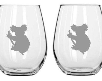 Koala Glass FREE Personalization