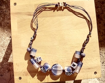 Sea water Colors Necklace