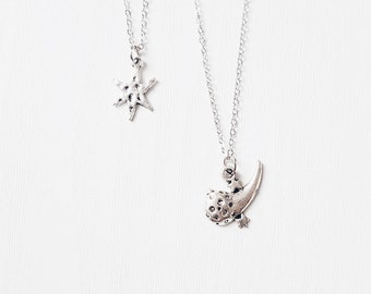 Silver Comet Necklace | Asteroid Necklace | Boho Jewelry | Jewellery | Gift | Star | Make a Wish | Shooting Star | SALE