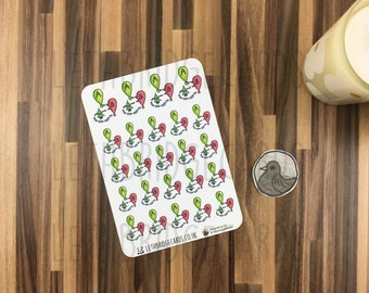 Running Stickers; Hand Drawn Stickers; Walking; Hiking; Fitness Planning; Planner Stickers; Erin Condren Compatible; Happy Planner