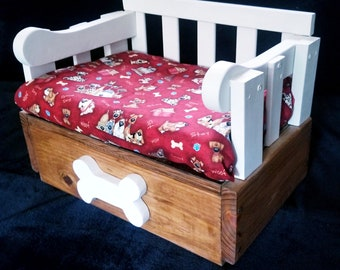 Small Crib-Style Dog Bed
