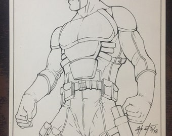 Original Daredevil Illustration