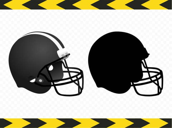 Football helmet SVG Printables Shirt Stickers Clipart DXF PDF