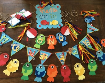 Fish Party, Fish Theme, O-Fish-Ally One, Fishy Theme, Fishing Party, Ofishally Two