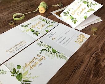 Custom Designed Photo Cards Wedding von gwenmariedesigns auf Etsy