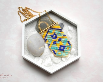 Tropical _ pendant geometric collection