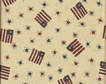 "General Fabrics Company Americana Fabric (35"")"