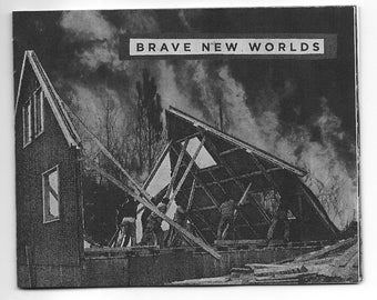 brave new worlds - a collage zine about survival, ecology, queer nature, and the future